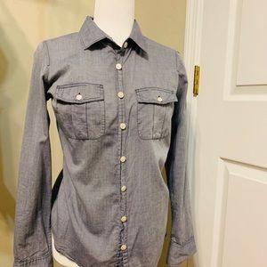 J Crew Perfect Shirt S